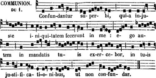 communion de sainte Cécile, vierge & martyre