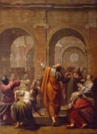 La descente du Saint-Esprit par J. Blanchard - May de 1634 - Chapelle des Fonds Baptismaux, Notre-Dame de Paris