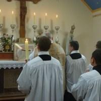 Messe à Stronsay de la fête du Très-Saint Rédempteur, 3ème dimanche de juillet