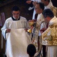 Fête-Dieu 2012 : avant la communion des fidèles
