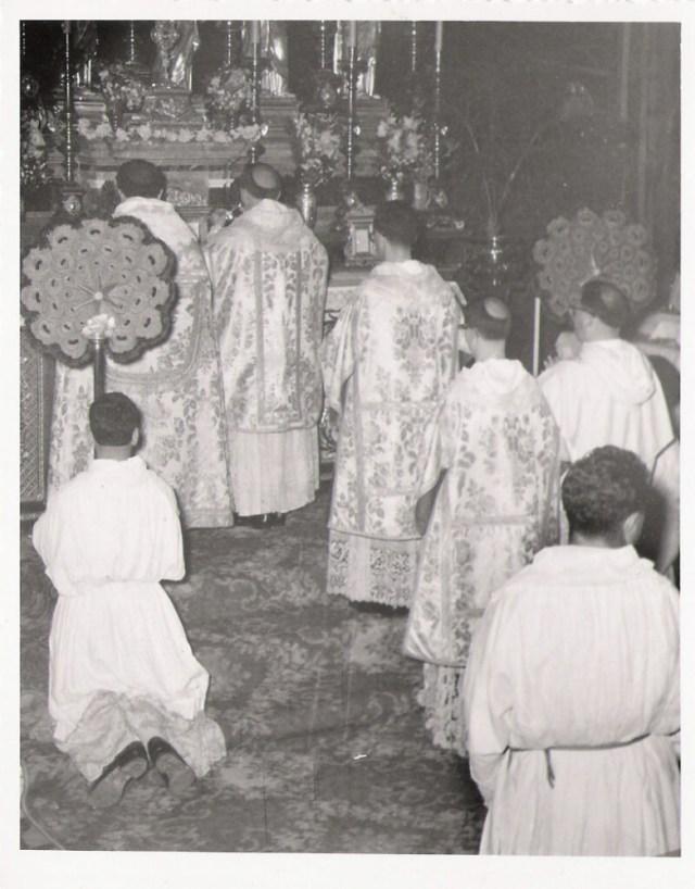 Flabellum dans le rit dominicain