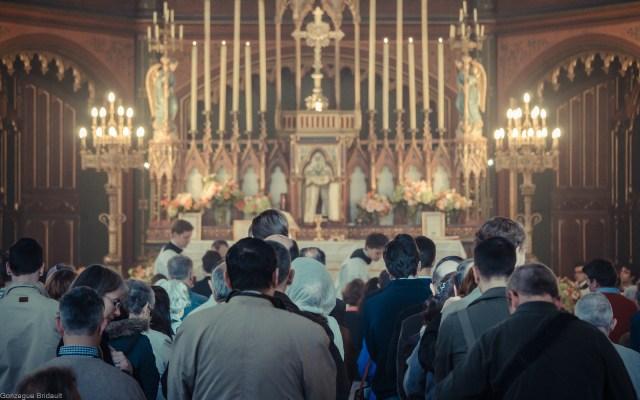 Messe de la Fête-Dieu à Saint-Eugène - 2 juin 2013