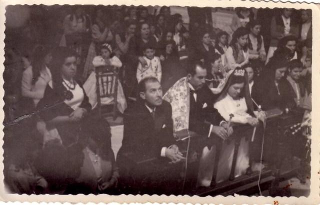 Vélation nuptiale en Espagne en 1954-06