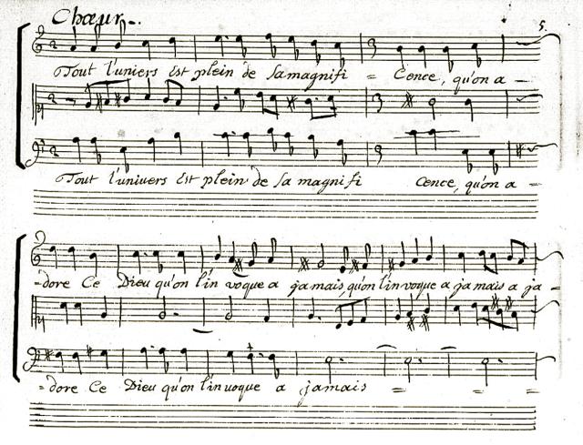 Premier chœur d'Athalie de Racine & Moreau