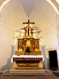 04 Le maître-autel du XVIIème siècle de la collégiale Saint-Martin de Bollène