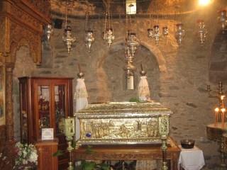 Reliquaire du corps de saint Patapios