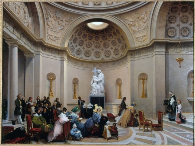 Programme de la messe de Requiem pour Louis XVI à la Chapelle Expiatoire