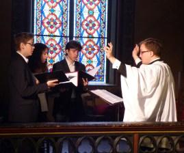 Rameaux 2015 - 27 - Miserere d'Allegri à la communion - le chœur des enfants