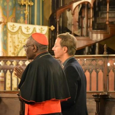 Son Eminence le cardinal Sarah à Saint-Eugène 11