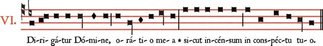 Dirigatur du VIème ton