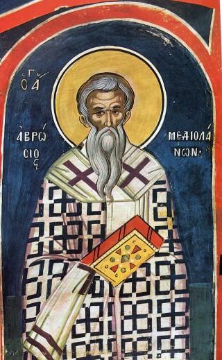 Programme du XXIXème dimanche après la Pentecôte - saint Ambroise de Milan - ton 4