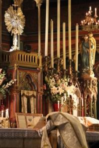 08-Messe de reposition des Quarante-Heures coram Sanctissomo - avant le chant de la collecte