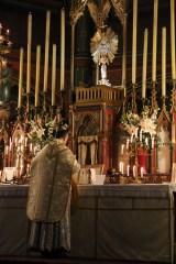 13-Messe de reposition des Quarante-Heures coram Sanctissomo - au début du canon