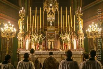 18-Messe d'exposition des Quarante-Heures - litanies des saints