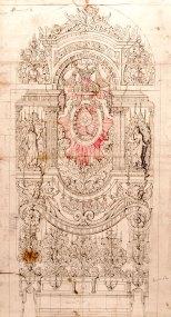 Beneduci di Orzinuovi - dessin d'une machine des Quarante-Heures