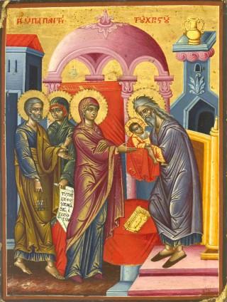 Programme du XXXVIIème dimanche après la Pentecôte - Avant-fête de la Rencontre du Seigneur - saint Tryphon - ton 4