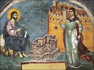 Programme du dimanche de la Samaritaine - ton 4