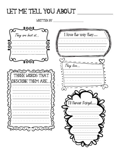 Memory Books With Free Printables Say So Long in Style Scholastic