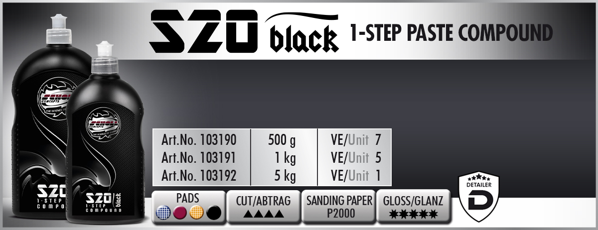 S20 BLACK Real 1-Step Compound Scholl Concepts