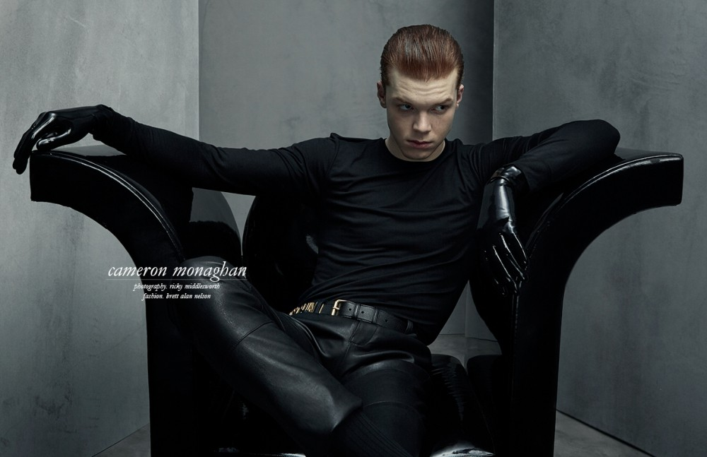 Sad Alone Quotes Hd Wallpaper Interview Cameron Monaghan Sch 246 N Magazine