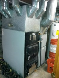 Olson Duomatic CWO-B140 Multi fuel furnace