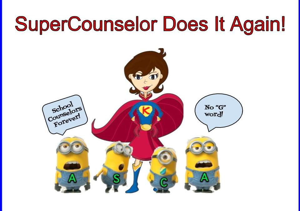 SuperCounselor Saves The Future of School Counseling