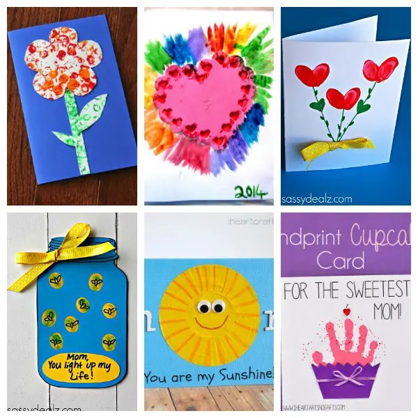 21 Creative and Cute Kid-Made Mother\u0027s Day Cards