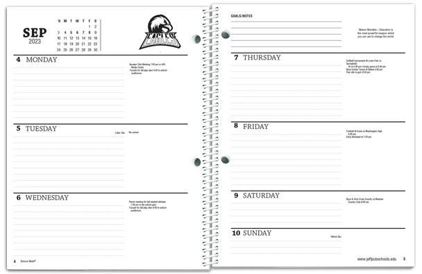 Student Planners - School Mate® - school agenda