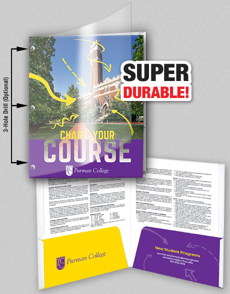 College Folders - Features  Options - School Mate® College Planners