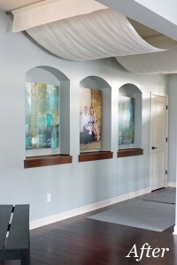 Ceiling Drapes Aglow | School of Decorating by Jackie ...