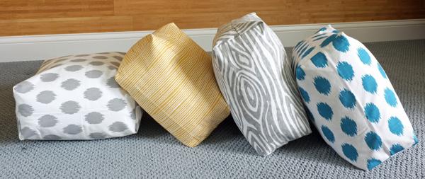 Diy Easy Boxy Floor Cushions | School Of Decorating By Jackie