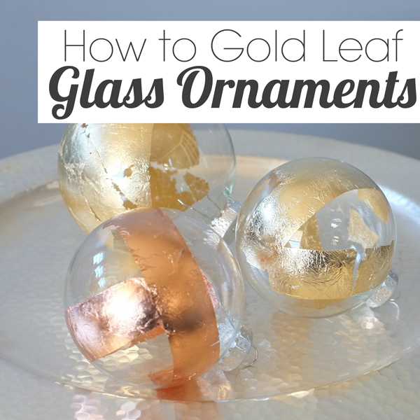 How To Gold Leaf On Glass | School Of Decorating By Jackie Hernandez