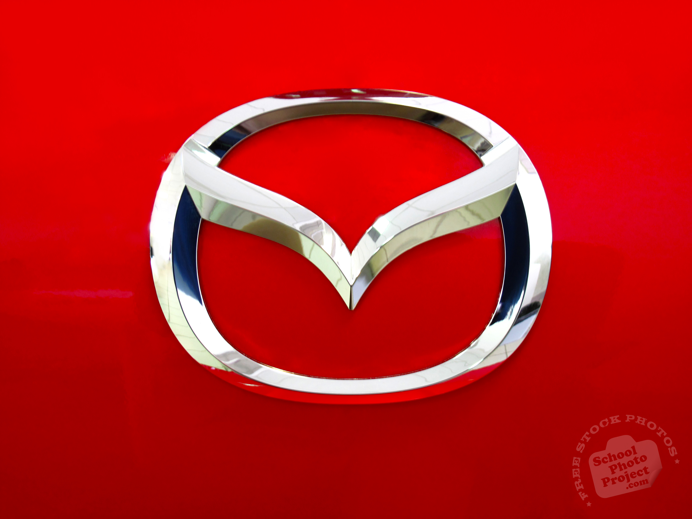 Project Cars Wallpaper Red Mazda Logo Free Stock Photo Image Picture Red Mazda