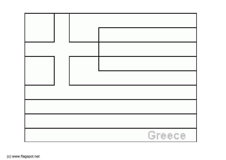 greek flag template - Canasbergdorfbib