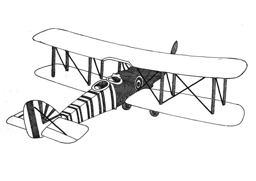 kleurplaten vliegtuig auto electrical wiring diagramkleurplaat vliegtuig dubbeldekker