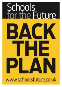 Schools Future BackThePlan poster Colour
