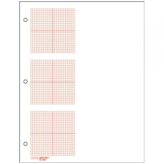 500 pk - 3 Grid Graph Paper, 1/8\