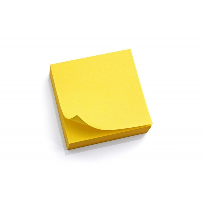 Sticky notes, 3x3, yellow, 100ct pad ; Brand Best in Class - stickey notes