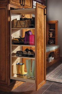 Tall Pantry Pull-out Cabinet - Schrock Cabinetry