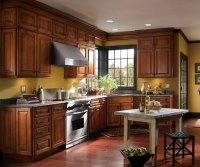 Traditional Cherry Kitchen Cabinets - Schrock