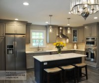 Gray Cabinet Paint - Cloud on Maple - Schrock Cabinetry