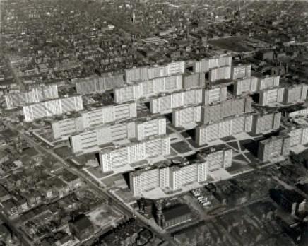 Pruitt-Igoe as it looked in February 1955.