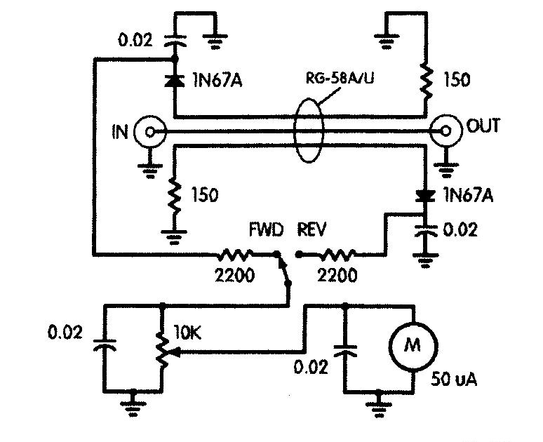 simple swr meter bridge