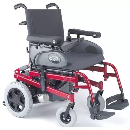 Baño General En Silla:Sunrise Quickie Power Wheelchair