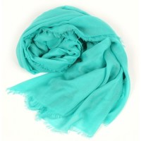 UNITO Solid Light Turquoise Scarf