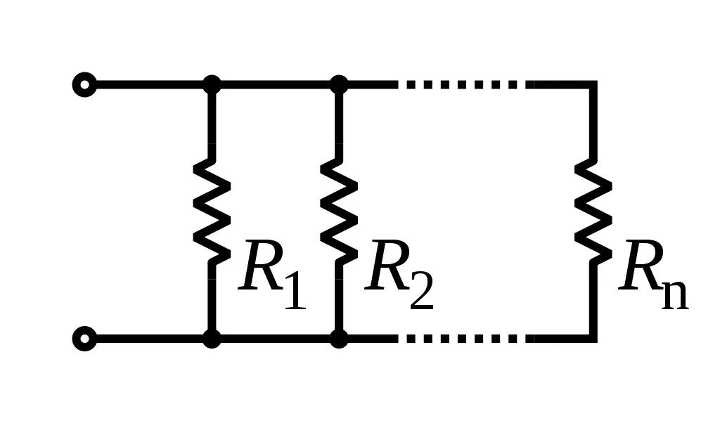 resistance resistors with ends of the same colour electrical