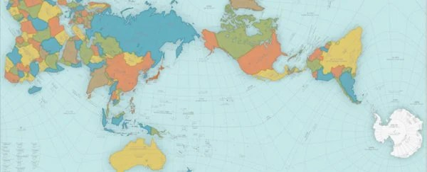 This Bizarre World Map Is So Crazily Accurate, It Actually Folds