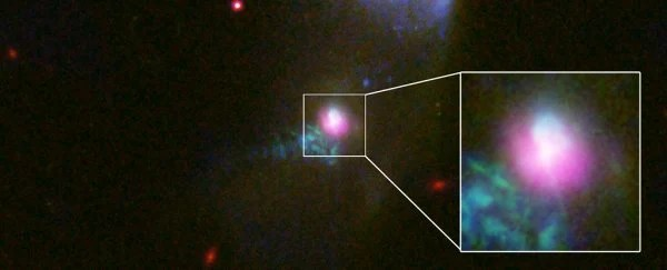 For The First Time Ever, Astronomers Have Observed a Black Hole