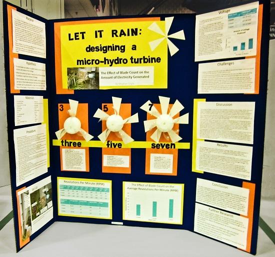 science fair project presentation