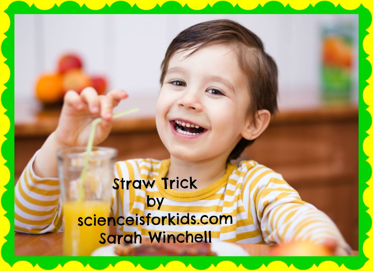 Straw Spinner Simple Science Activity - Science is for Kids
